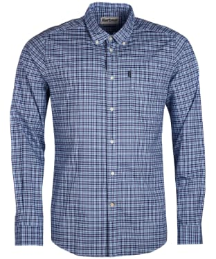 Men's Barbour Highland 1 Tailored Shirt - Sky