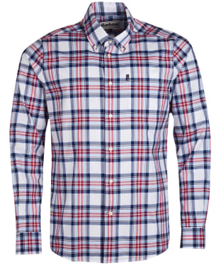 Men's Barbour Highland 6 Tailored Shirt - Sky