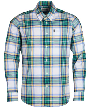 Men's Barbour Highland 6 Tailored Shirt - White