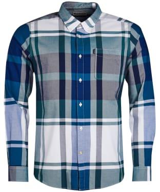 Men's Barbour Highland 2 Tailored Shirt - Green