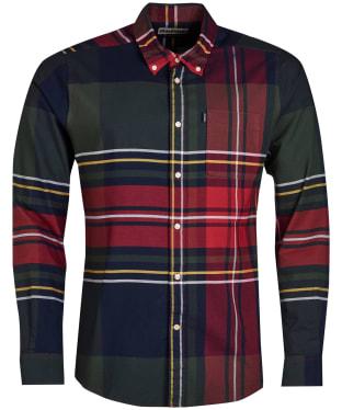 Men's Barbour Highland 2 Tailored Shirt - Navy