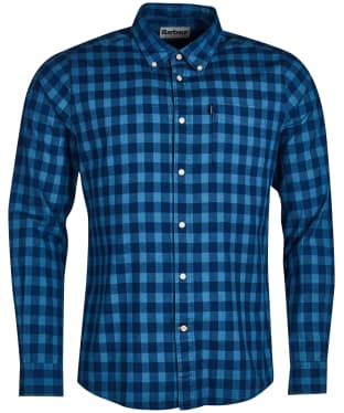 Men's Barbour Indigo 5 Tailored Shirt - Indigo