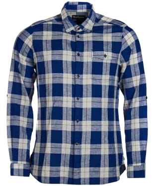 Men's Barbour Langness Shirt - Inky Blue