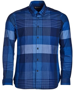 Men's Barbour Stern Shirt - Inky Blue