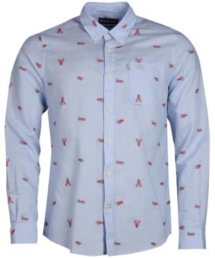 345c6d711fea Men s Barbour Lobster Shirt - Admiral Blue