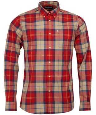 Men's Barbour Toward Shirt - Red