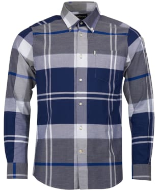 Men's Barbour Brothwell Shirt - Grey Marl