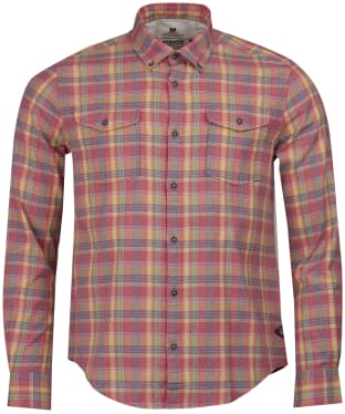 Men's Barbour Steve McQueen Seven Shirt - Washed Red