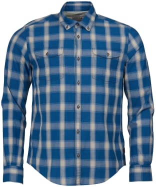 Men's Barbour Steve McQueen Holman Check Shirt - Indigo