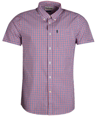 Men's Barbour Gingham 1 Short Sleeved Tailored Shirt