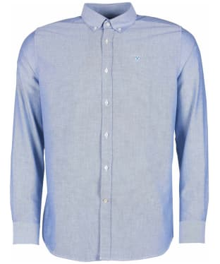 Men's Barbour Oxford 3 Tailored Shirt - Sky