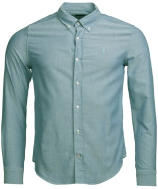 Men's Barbour Oxford 3 Tailored Shirt - Green