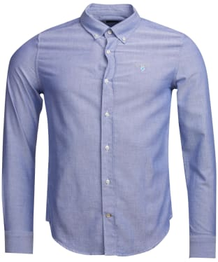 Men's Barbour Oxford 3 Tailored Shirt - Indigo