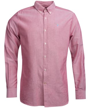 Men's Barbour Oxford 3 Tailored Shirt - Red