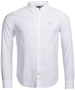 Men's Barbour Oxford 3 Tailored Shirt - White