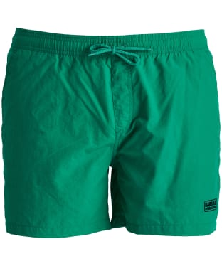 Men's Barbour International Logo Swim Shorts - Zest Green