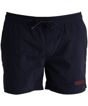 Men's Barbour International Logo Swim Shorts - Navy