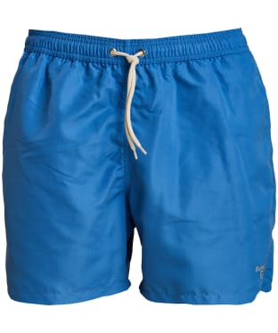 "Men's Barbour Logo 5"" Swim Shorts - Atlantic Blue"