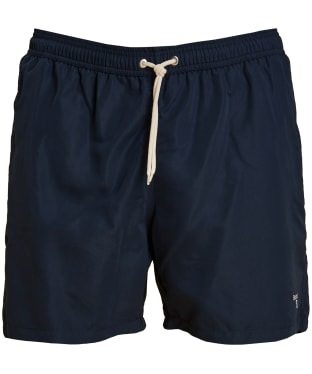 "Men's Barbour Logo 5"" Swim Shorts - Navy"