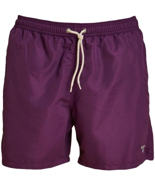"Men's Barbour Logo 5"" Swim Shorts - Purple"