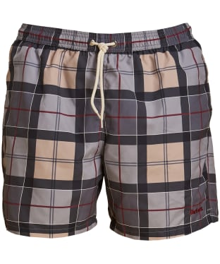 Men's Barbour Tartan Swim Shorts - Dress Tartan