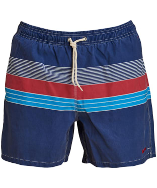 Men's Barbour Rydal Swim Shorts - Red
