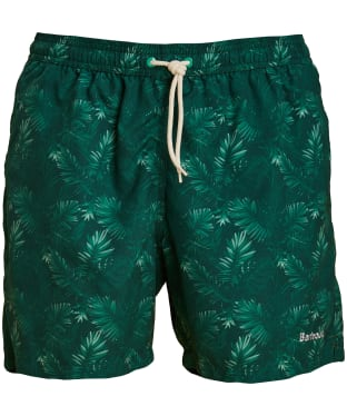 Men's Barbour Tropical Swim Shorts - Green