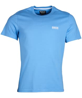 Men's Barbour International Small Logo Tee - Vivid Blue