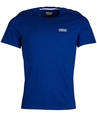 Men's Barbour International Small Logo Tee - Aragon Blue