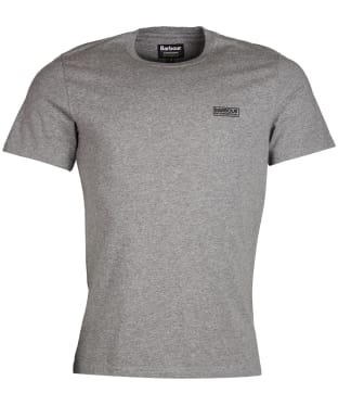 Men's Barbour International Small Logo Tee - Anthracite