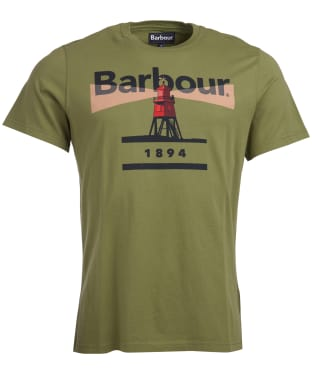 Men's Barbour Beacon 94 Tee - Burnt Olive
