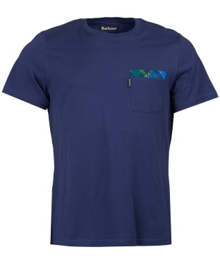 Men's Barbour Bilberry Tee - Patriot Blue