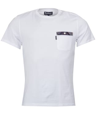 Men's Barbour Bilberry Tee - White