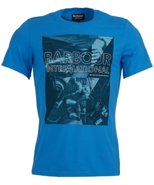 Men's Barbour International Frame Tee - Vivid Blue