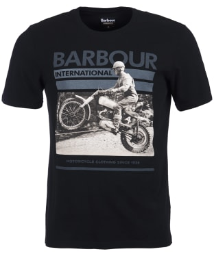 Men's Barbour International Archive Tee - Black