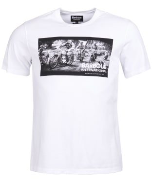 Men's Barbour International Archive Tee - White