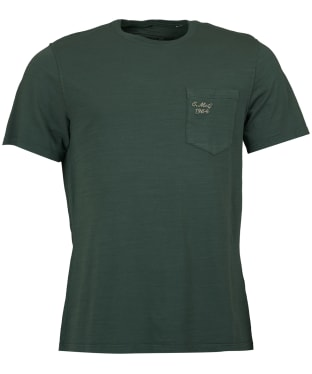 Men's Barbour Steve McQueen Vapour T-Shirt - Washed Khaki