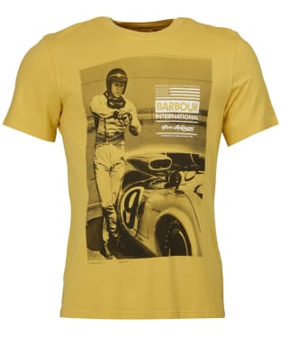 Men's Barbour Steve McQueen Jake T-Shirt - Washed Yellow