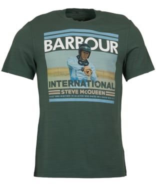 Men's Barbour Steve McQueen Time Tee - Washed Khaki