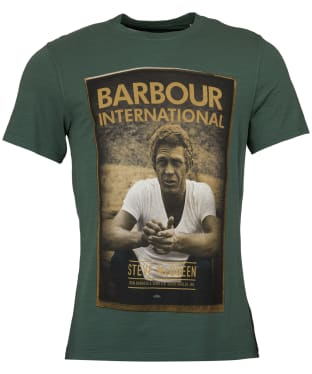 Men's Barbour Steve McQueen Relax Tee - Washed Khaki