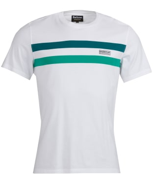 Men's Barbour International Circuit Tee - White