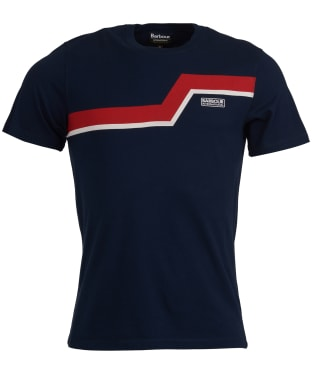 Men's Barbour International Angle Tee - Navy