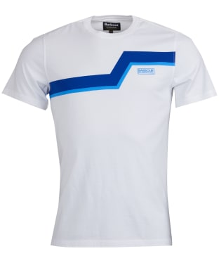 Men's Barbour International Angle Tee - White