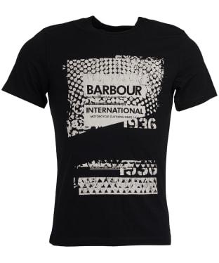 Men's Barbour International Distort Tee - Black