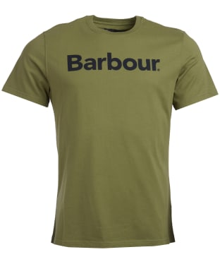 Men's Barbour Logo Tee - Burnt Olive