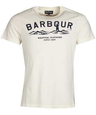 Men's Barbour Bressay Tee - Whisper White