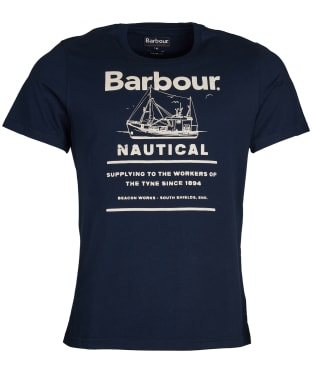 Men's Barbour Davan Tee - Navy