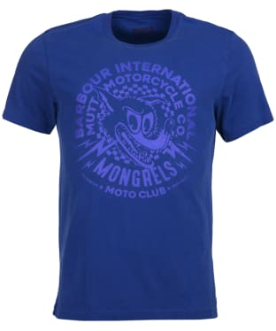 Men's Barbour International Mutt Tee - Aragon Blue
