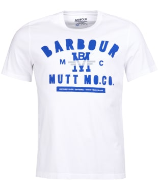 Men's Barbour International Mutt Tee - White