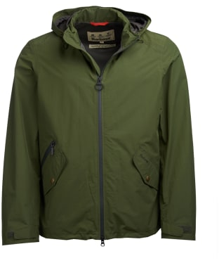 Men's Barbour Rosedale Waterproof Jacket - Rifle Green